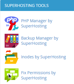 Fix Permissions by SuperHosting