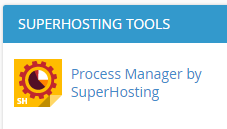 Process Manager by SuperHosting