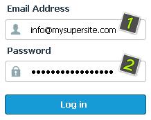 Unesite svoju imejl adresu i lozinku na stranici koja se otvorila.